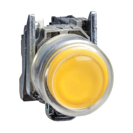 SQD XB4BP51 NON-ILLUM CLEAR BOOT YELLOW EXTENDED N/O