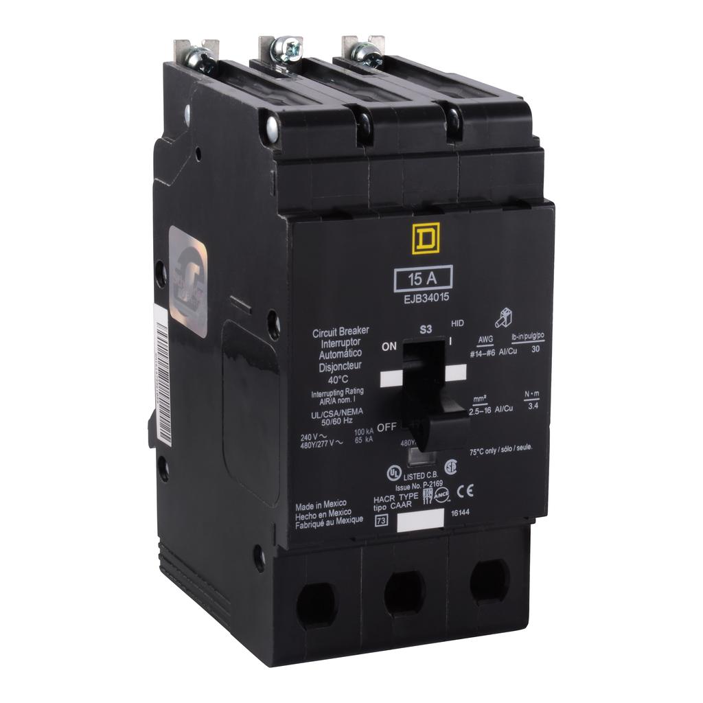 E Frame, circuit breaker, 20 A, 3 pole, 480Y/277 V, 18/25 kA, bolt on