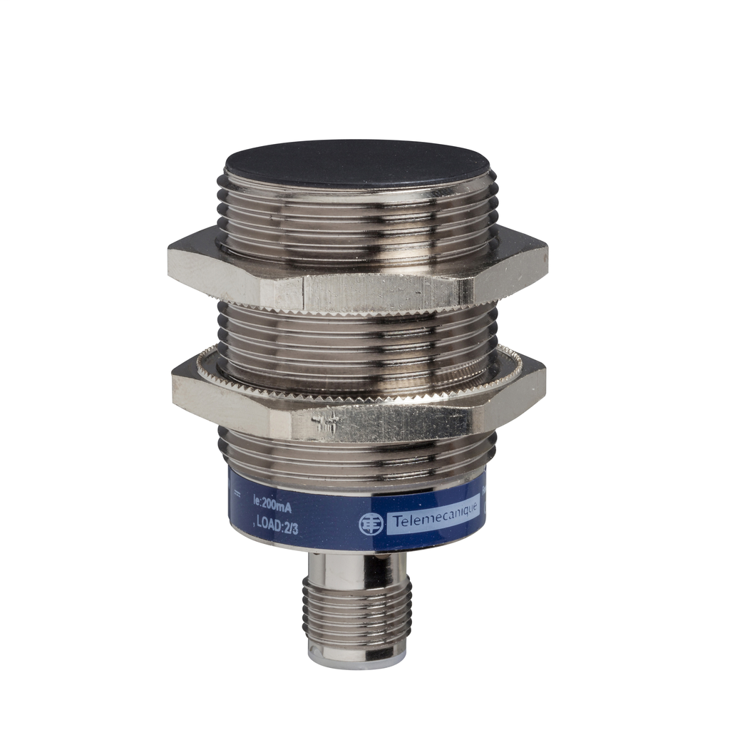 Inductive sensor XS5 M30 - L55mm - brass - Sn10mm - 12..24VDC - M12
