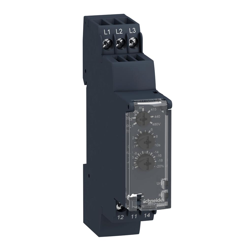 Multifunction control relay RM17-TA - range 183..528 V AC