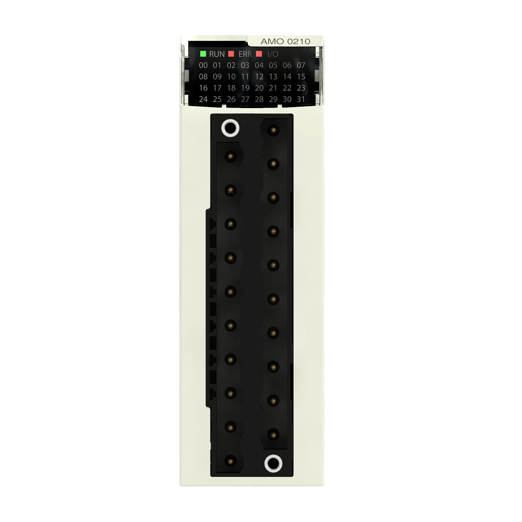 Isolated analog output module X80 - 4 outputs