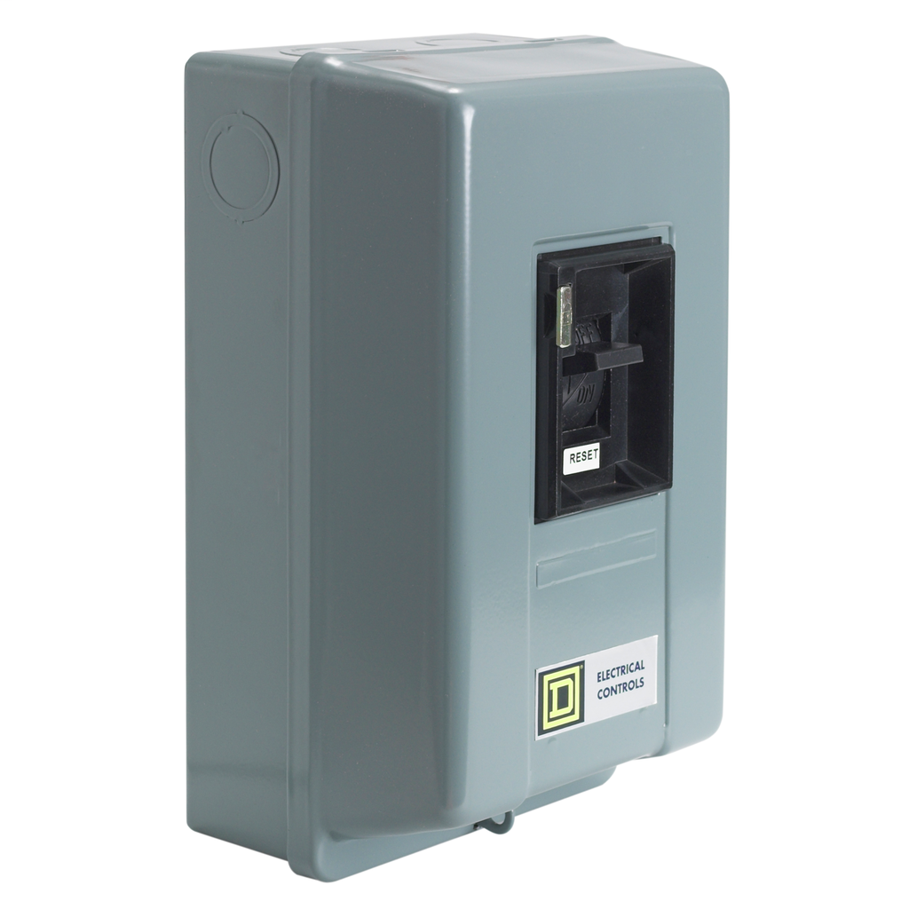 Manual Starter - NEMA 1 - Toggle - 2P - Size M1P - No Indicator - 600VAC