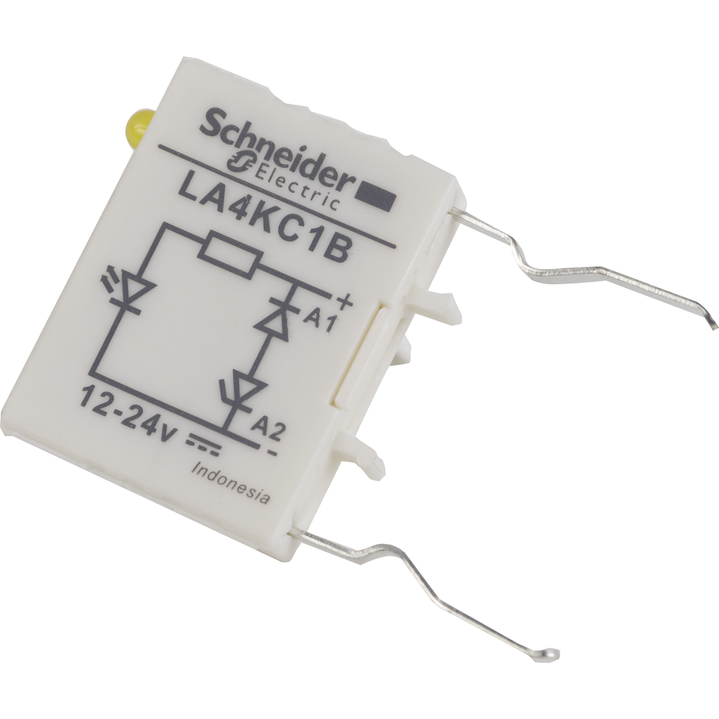 TeSys K - Suppressor module - bidirectional peak limiting diode - 12...24 V