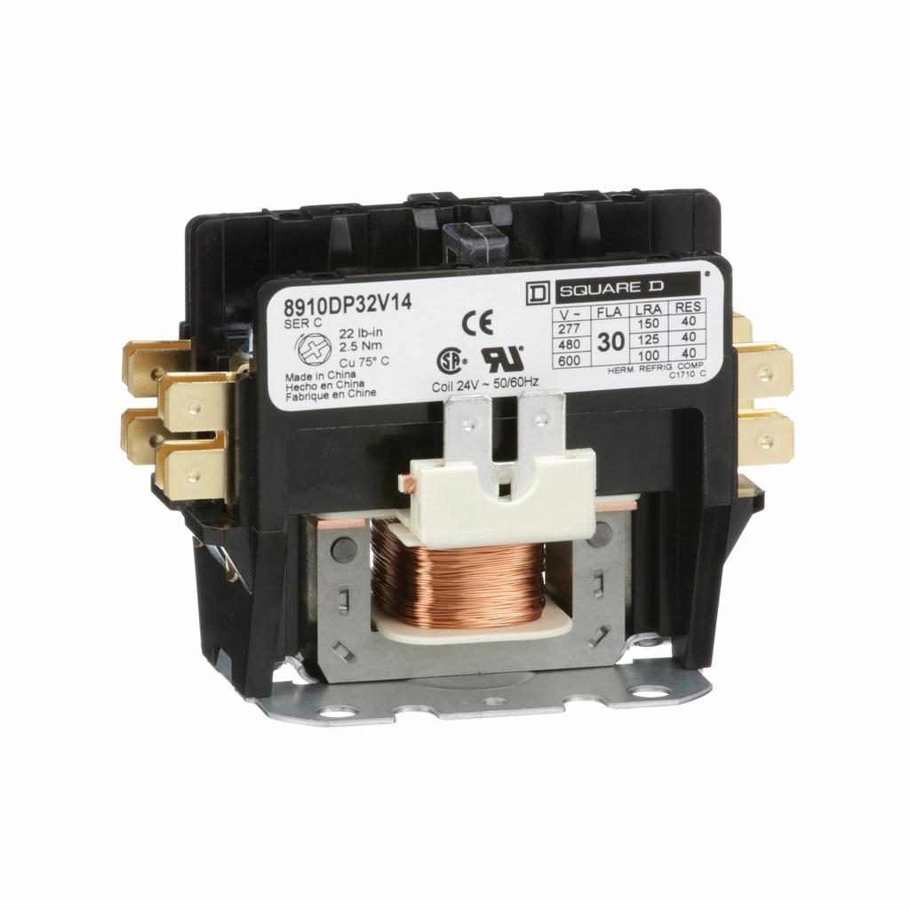 Square D 8910DPA23V02 3P 25A 120V Contactor