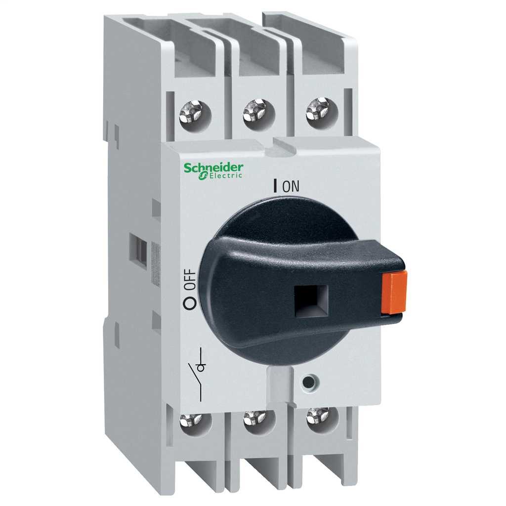 TeSys VLS - Body switch disconnector - 3 poles - 32 A - on DIN rail
