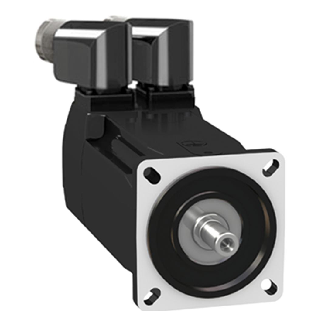 Servo motor BMH - 2.5 Nm - 8000 rpm - keyed shaft - without brake - IP54