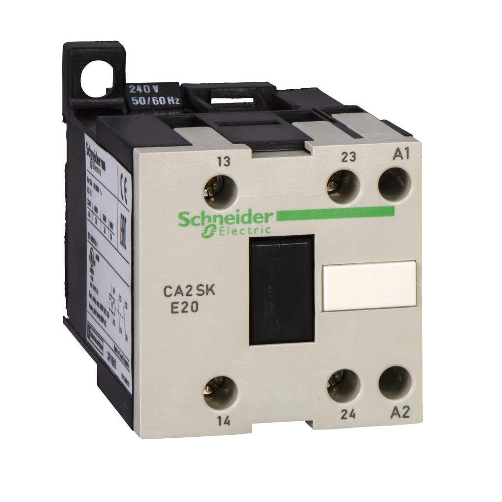 TeSys SK control relay - 2 NO - <= 690 V - 240 V AC coil