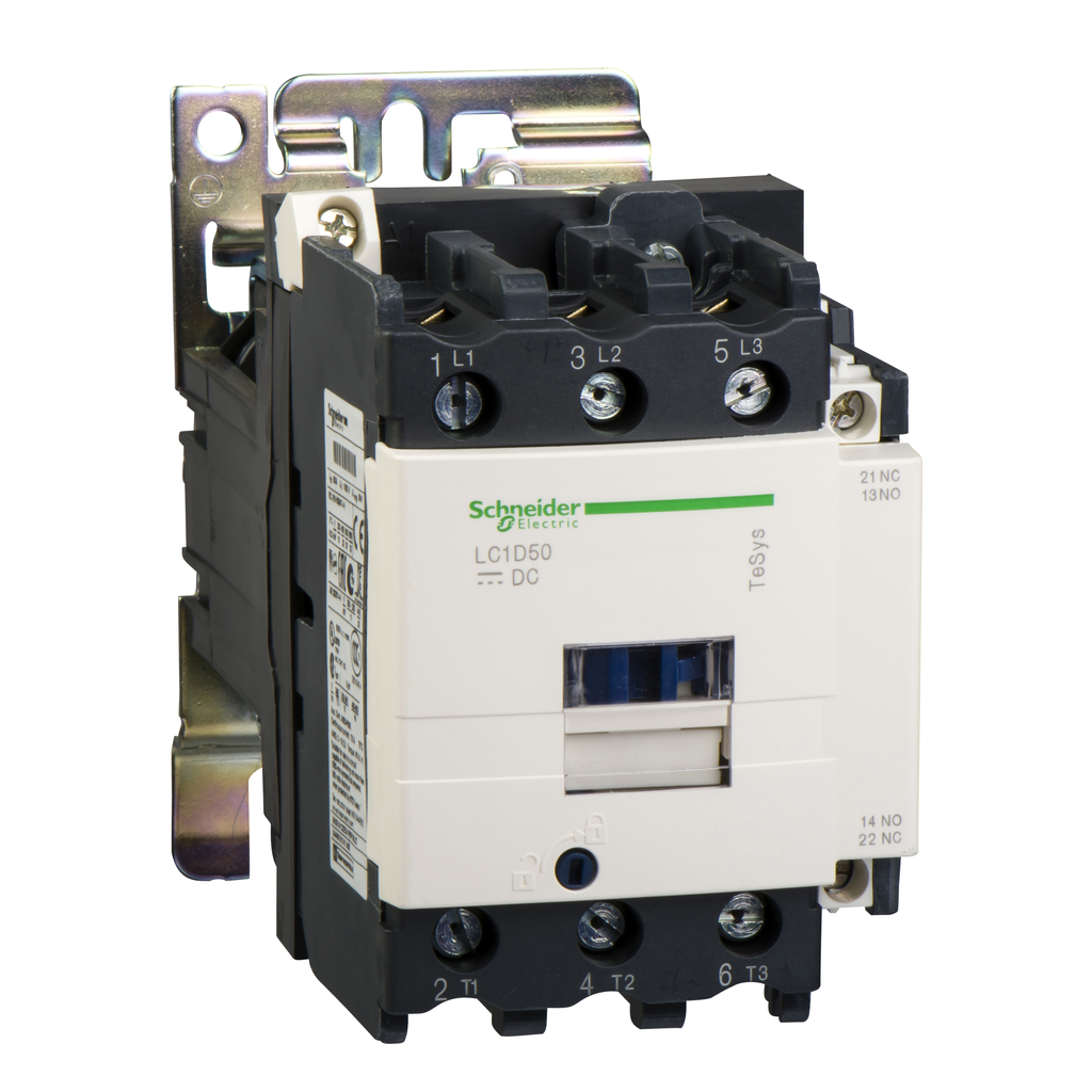 CONTACTOR 600VAC 50AMP IEC +OPTIONS