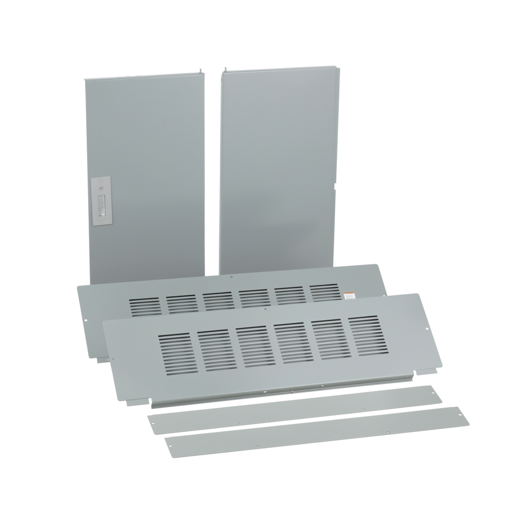 Trim, I-Line PNLBRD, hcp, surface, 4 pcs, w/door, 42x59 in