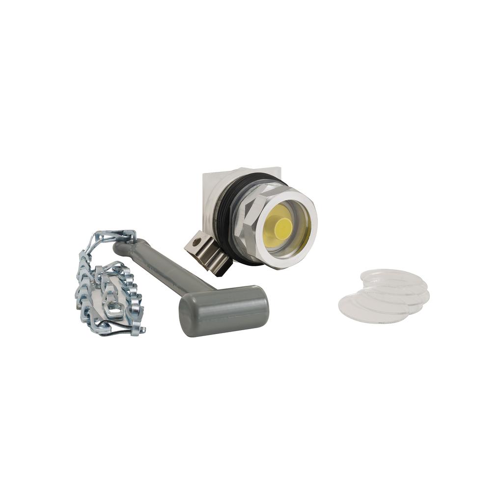 30mm Push Button, Type K, emergency break glass operator