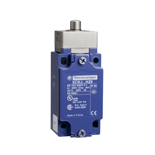 SQD XCKJ161 240VAC 10A LIMIT SWITCH +OPTIONS