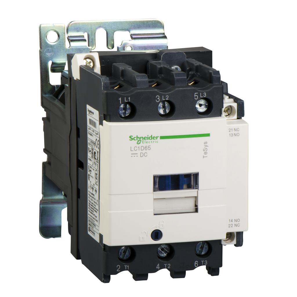 CONTACTOR 600VAC 65AMP IEC +OPTIONS