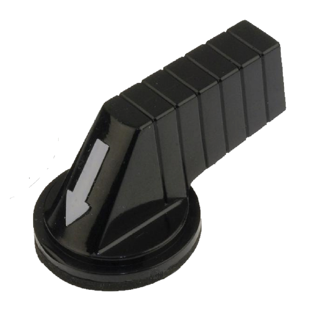 30mm Push Buttons, selector switch long handle, black
