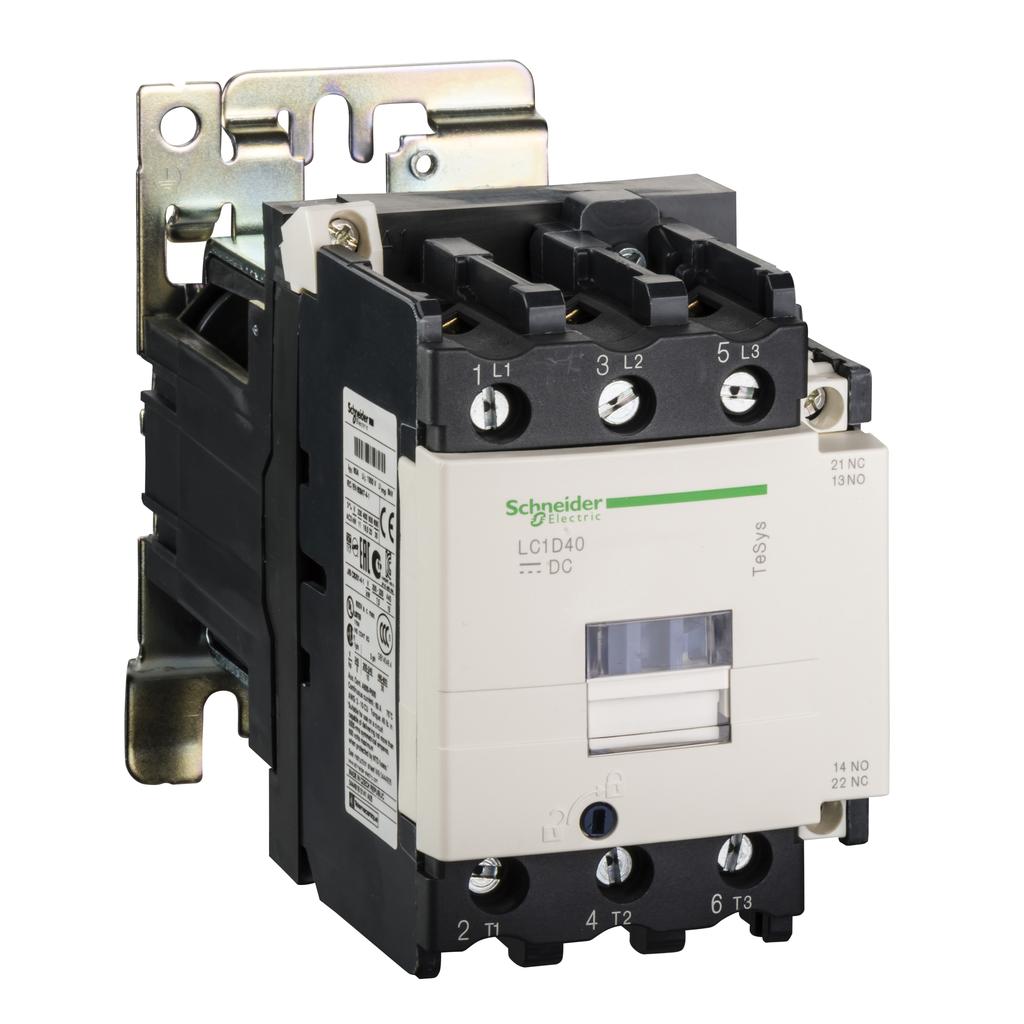 CONTACTOR 600VAC 40AMP IEC +OPTIONS