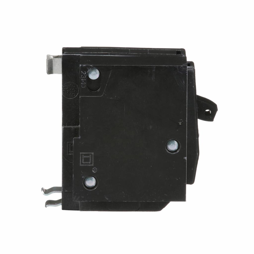 QO mini breaker, 20 A, 1 pole, 120/240 V, 10 kA, plug in, shunt trip