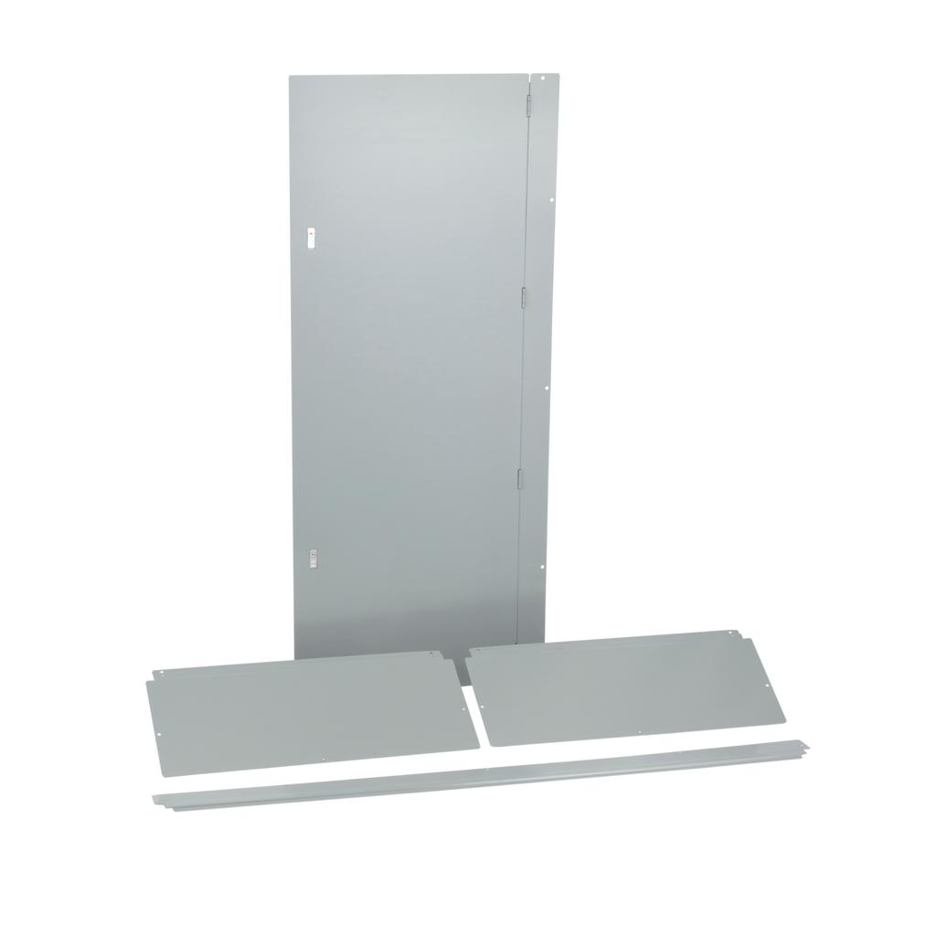 Trim, I-Line PNLBRD, hcm, surface, 4 pcs, w/door, 32x91x8.25 in