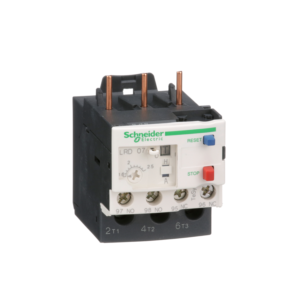 TeSys LRD, thermal overload relay, 1.6 to 2.5 A, class 10A