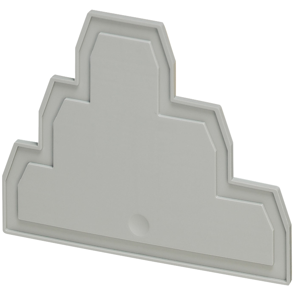 END COVER, 3 LEVEL, 2,2MM WIDTH, 6PTS, FOR SCREW TERMINALS NSYTRV26T