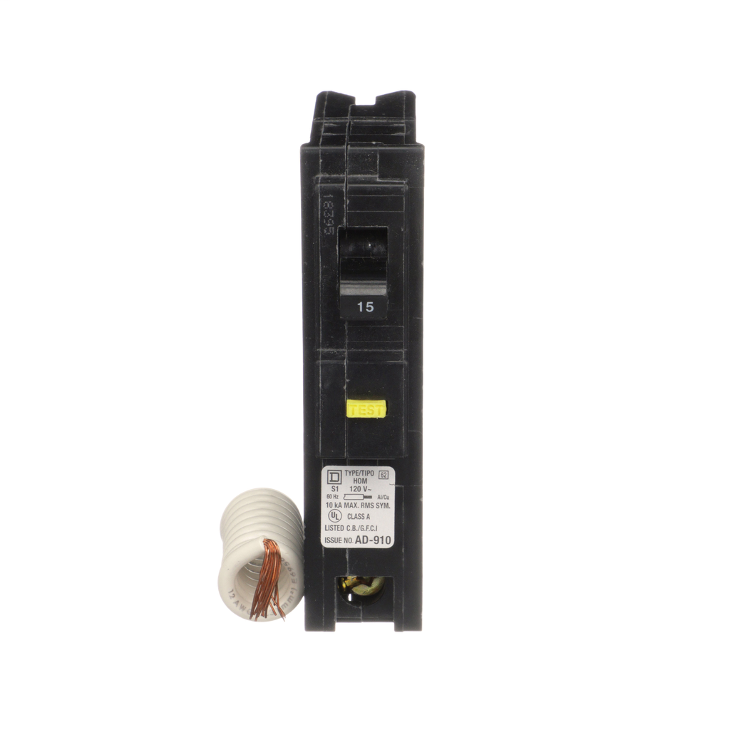 MINIATURE CIRCUIT BREAKER 120V 15A