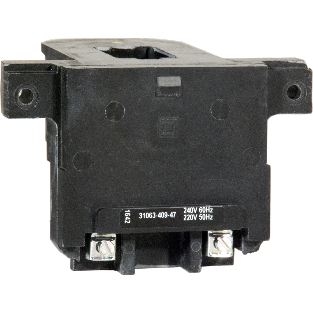 Type S replacement coil, 220/240 V 50/60 Hz, 2 or 3 P NEMA Size 2 contactors and starters, 8903SP lighting contactors