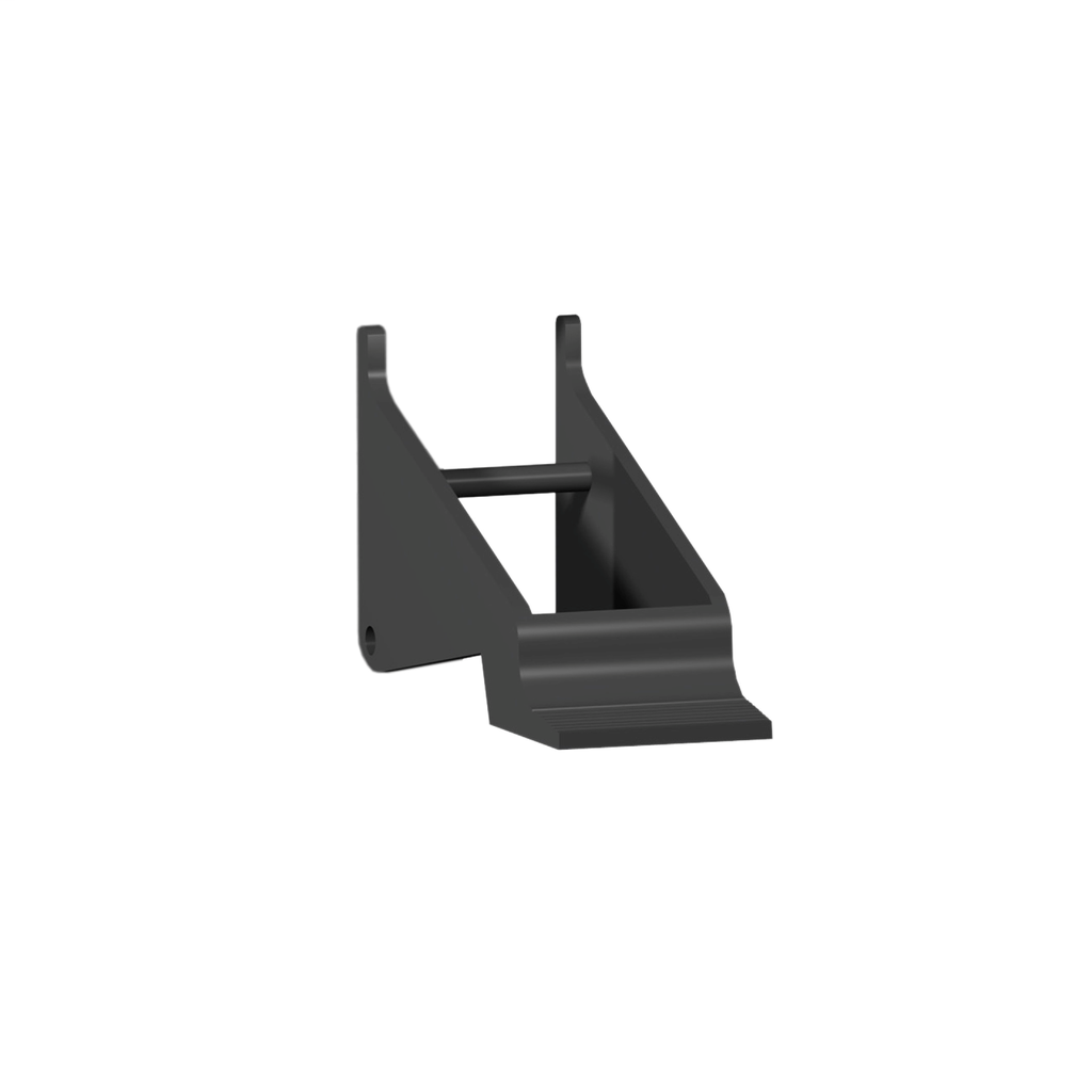 Plastic maintaining clamp - for interface relay socket RSZ