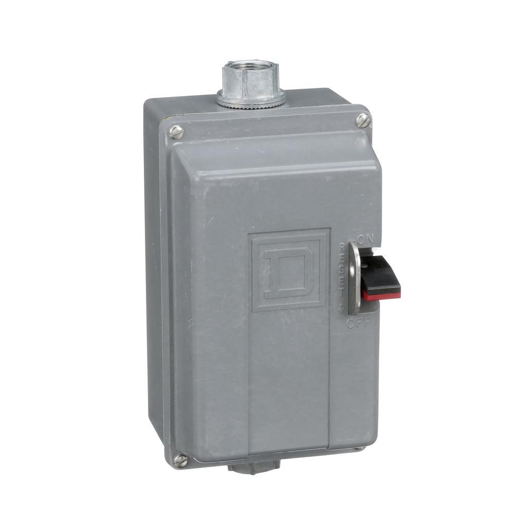 Manual Starter - NEMA 4 Polyester - 3P - Size M0 - No Indicator - 600VAC