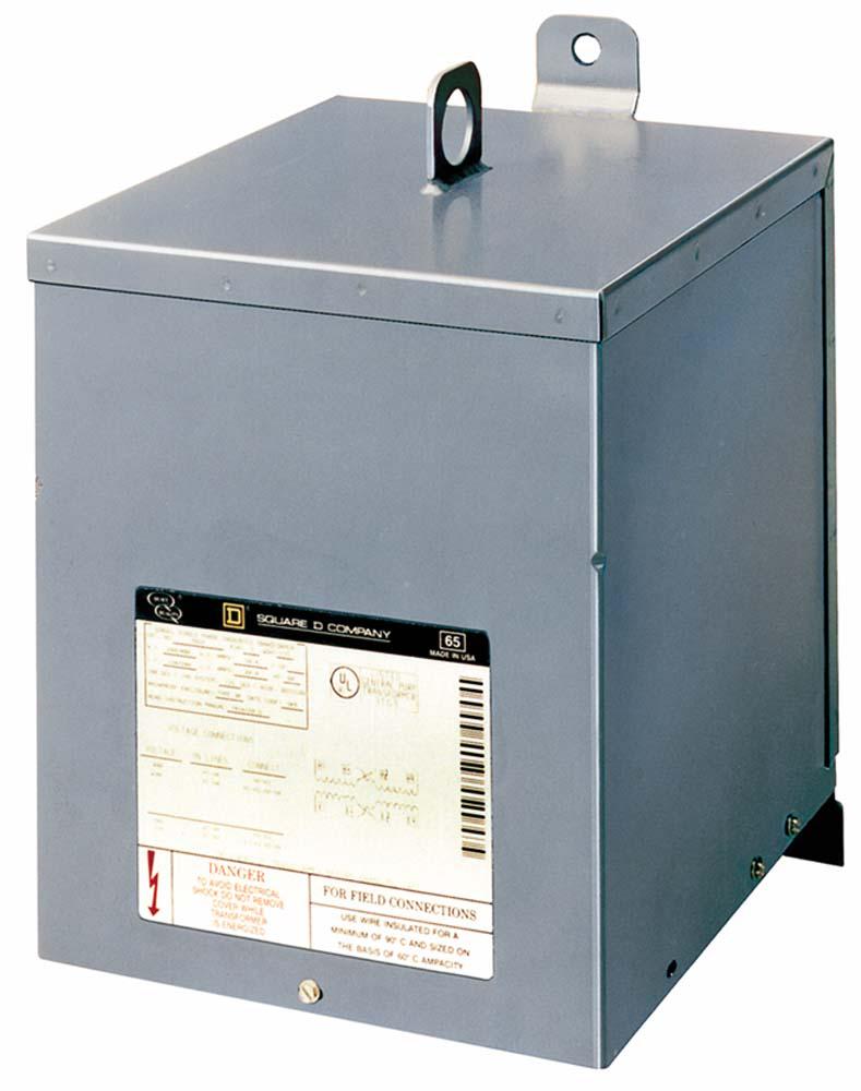 XFMR DRY 1PH 15KVA 240X480V-120/240V
