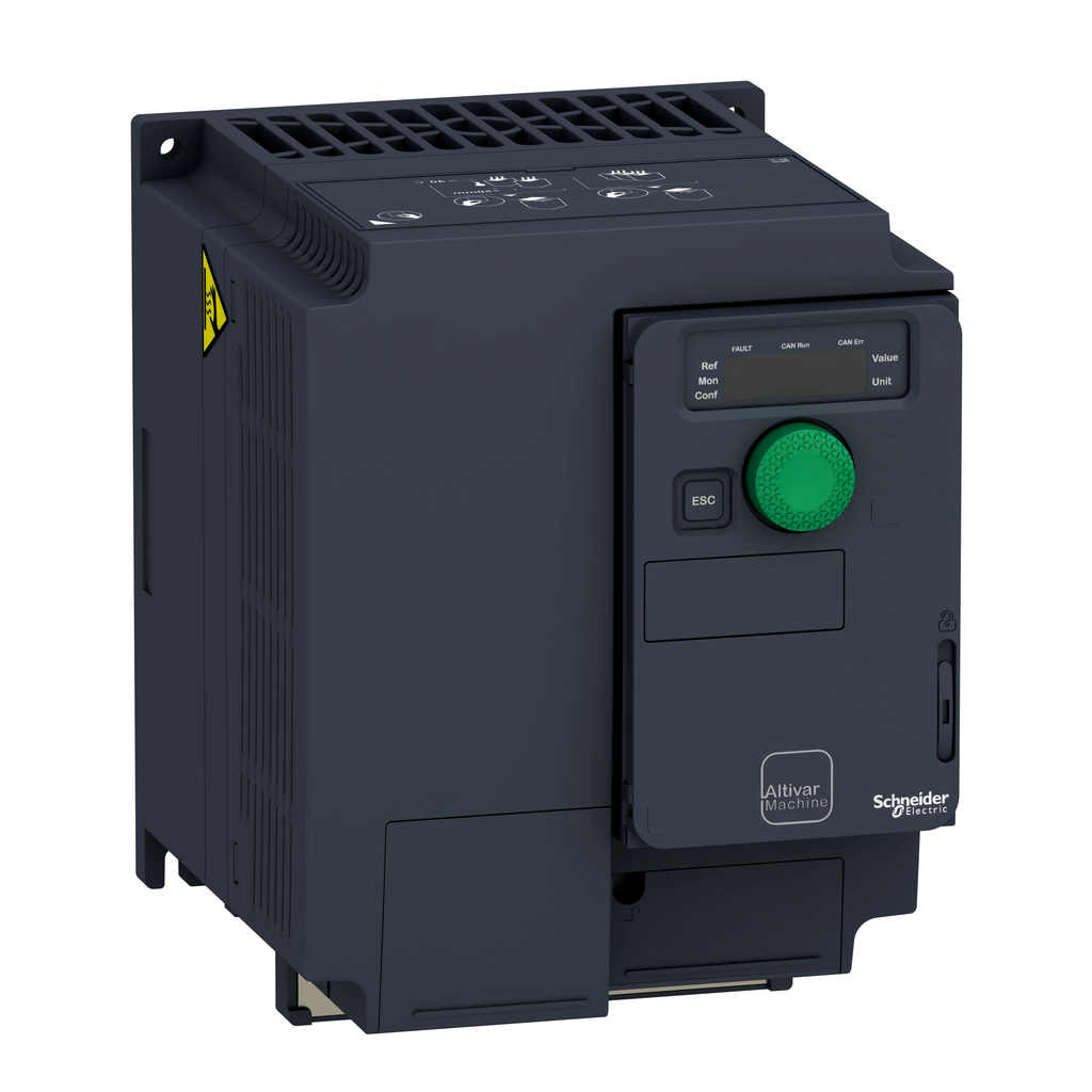 Variable speed drive, ATV320, 4 kW, 380…500 V, 3 phases, compact