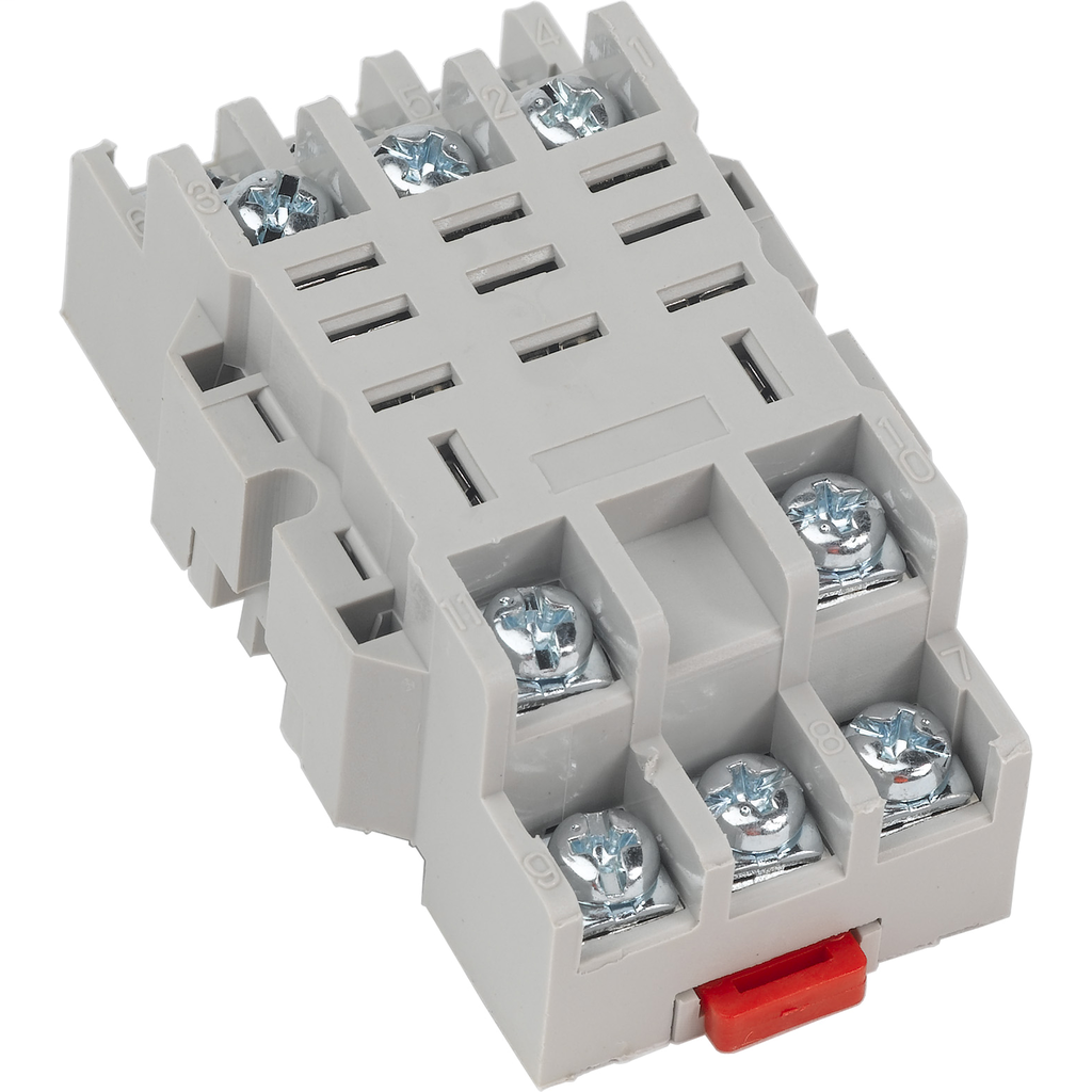 Relay socket, 11 pin, blade, for 8510R relays