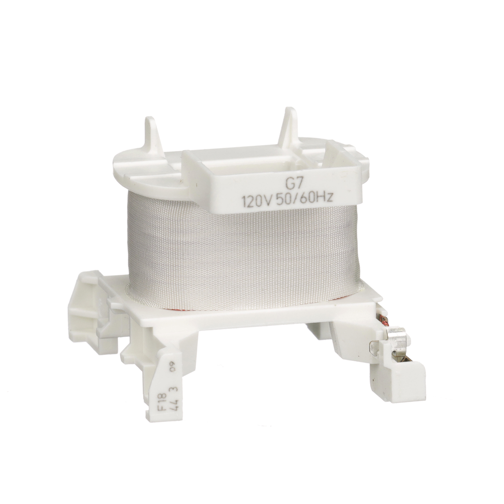 TeSys D, replaement coil, for LC1D09 to 38 contactors and CAD relays, 120 VAC 50/60 Hz coil