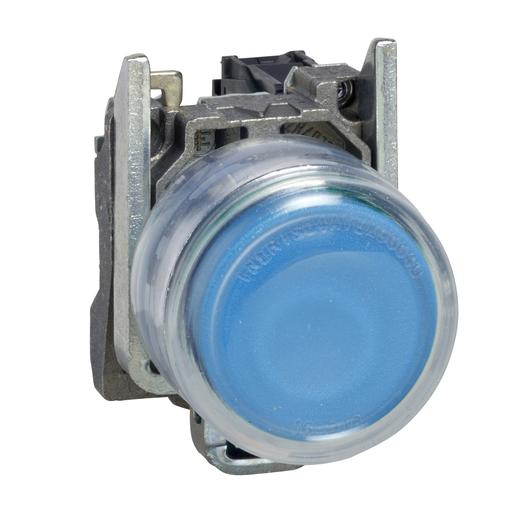 SQD XB4BP61 NON-ILLUN CLEAR BOOT-BLUE EXTENDED 1NO