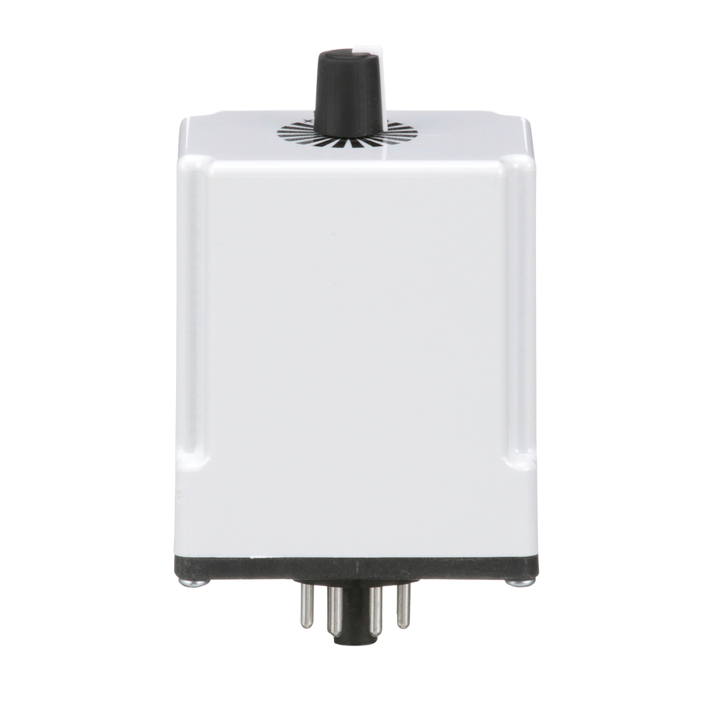 Plug In Timer, on delay, 0.3 to 30 seconds, 10 A at 240 VAC, 120 VAC/110 VDC