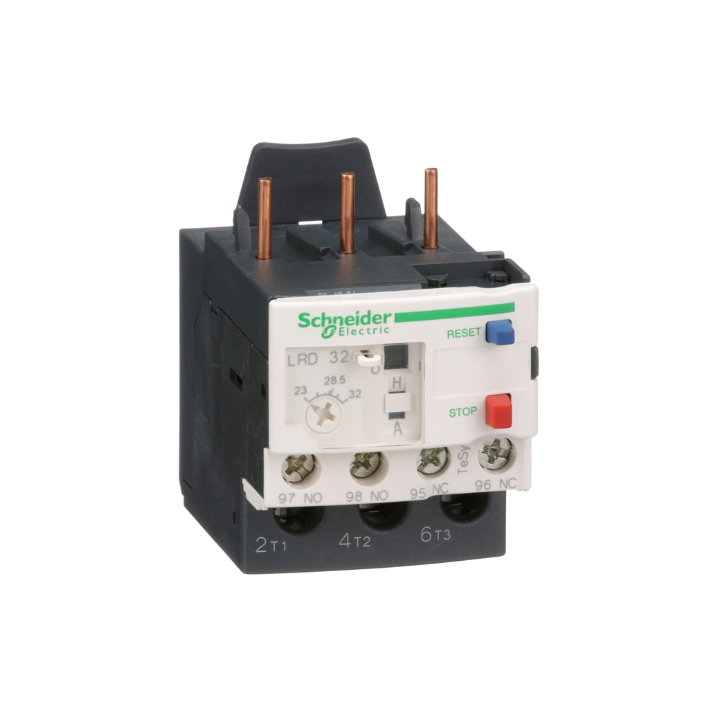 TeSys LRD, thermal overload relay, 23 to 32 A, class 10A