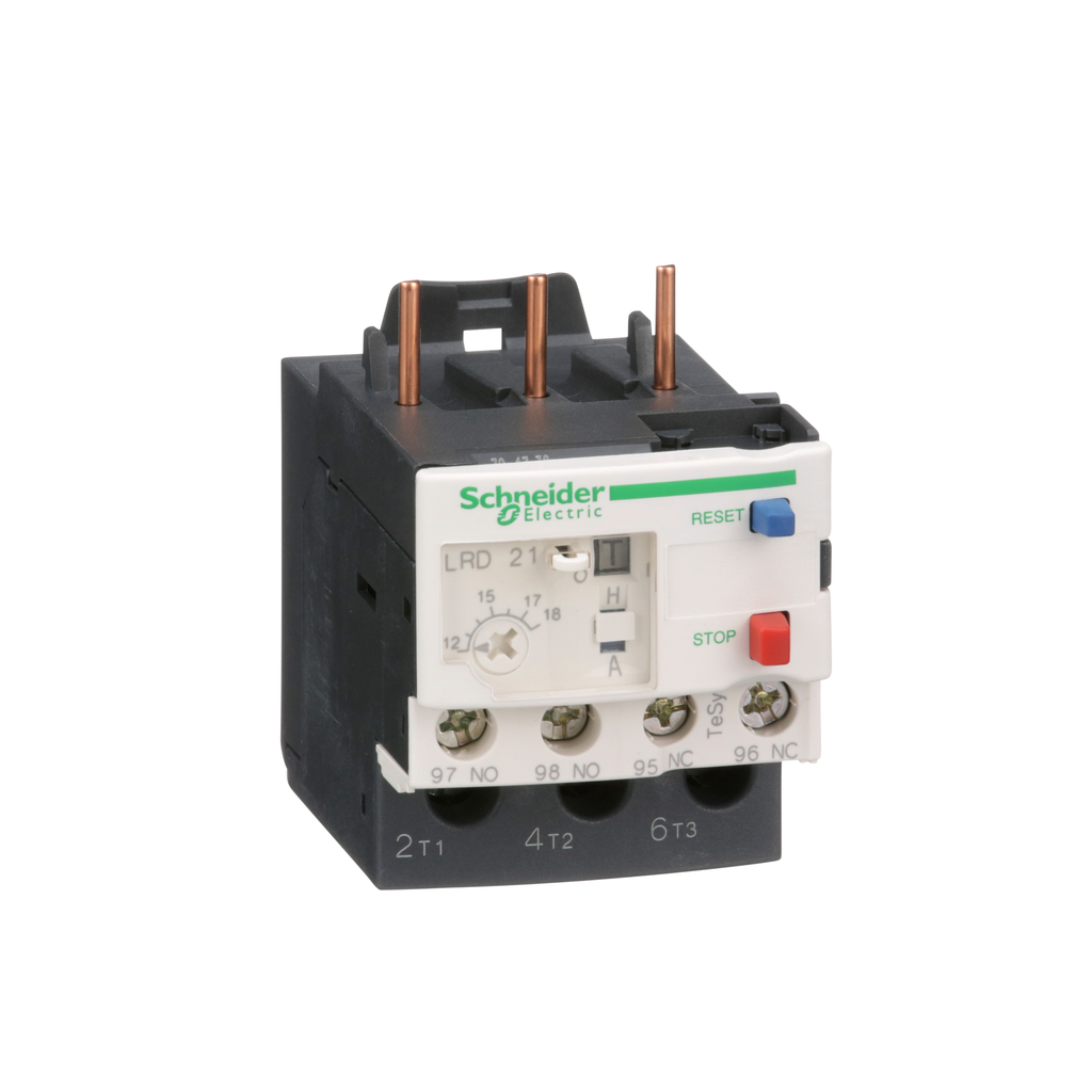 TeSys LRD, thermal overload relay, 12 to 18 A, class 10A