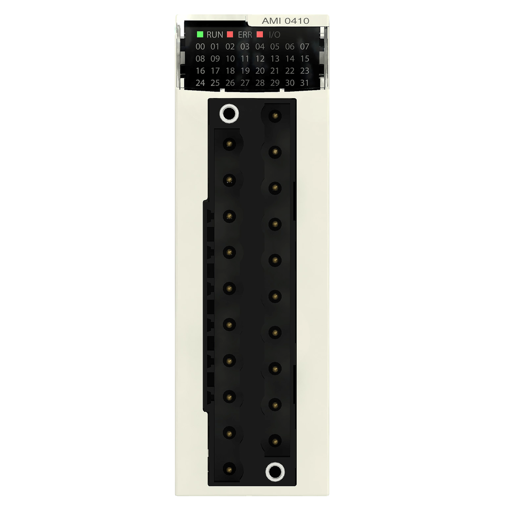 Analog input module X80 - 4 inputs - high speed