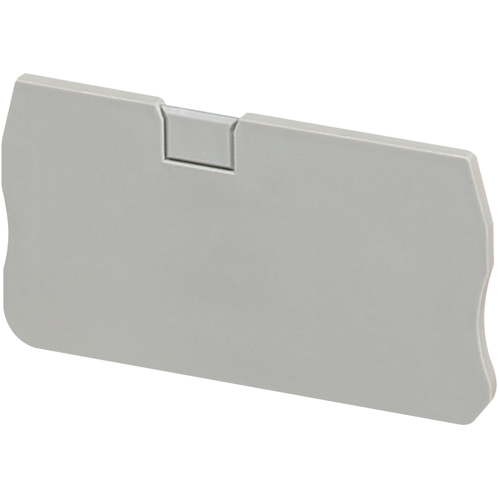 END COVER, 2PTS, 2,2MM WIDTH, FOR SPRING TERMINALS NSYTRR42, NSYTRP42