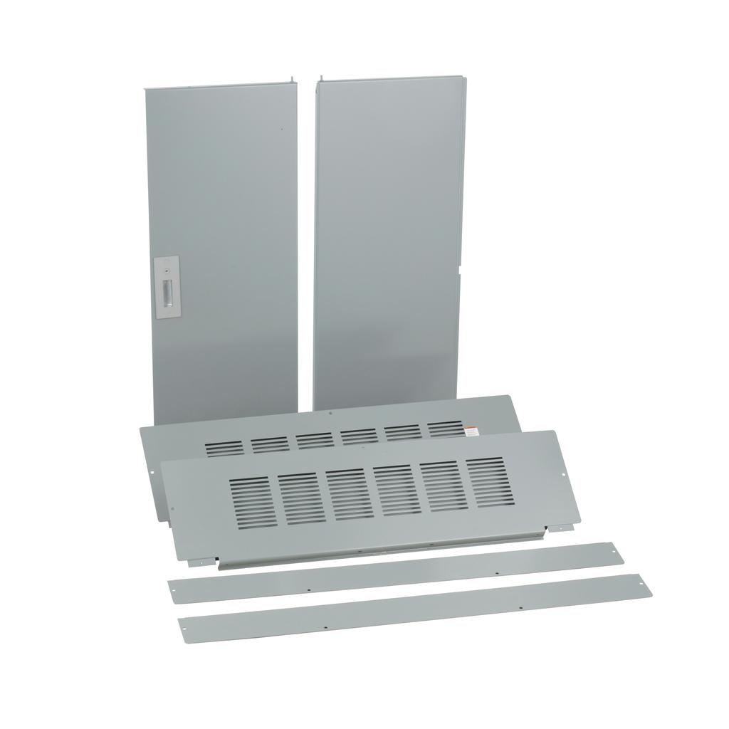Trim, I-Line PNLBRD, hcp, surface, 4 pcs, w/door, 42x68 in