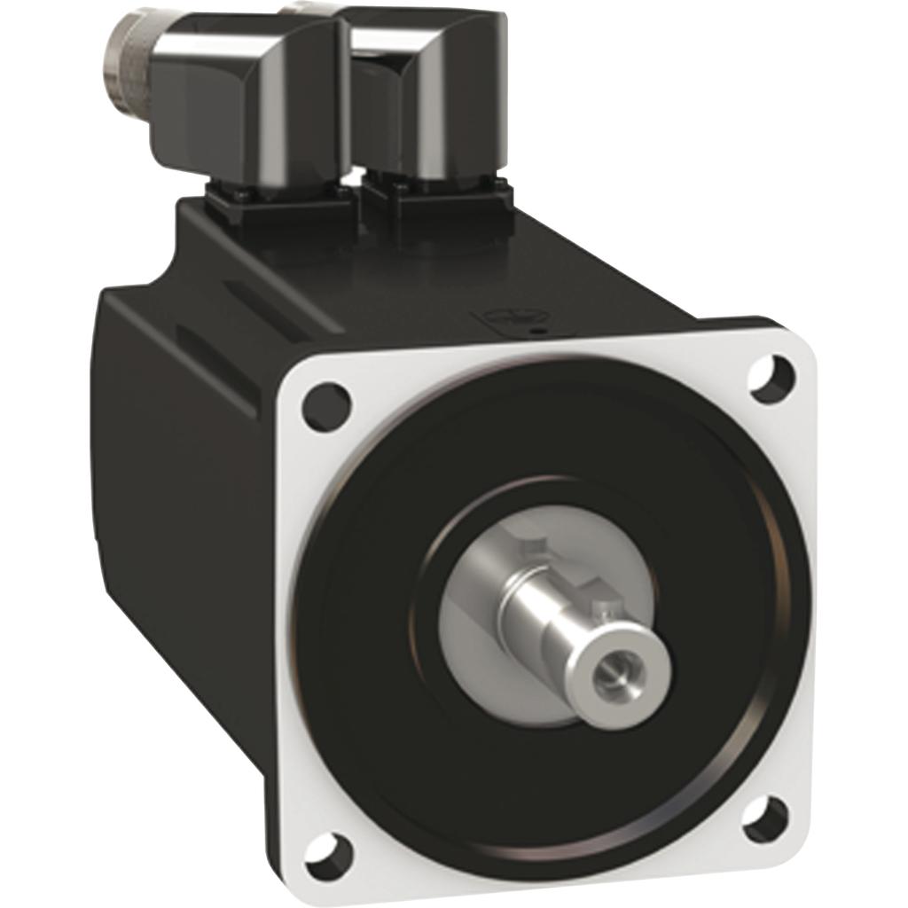 Servo motor BMH - 3.3 Nm - 6000 rpm - keyed shaft - with brake - IP54