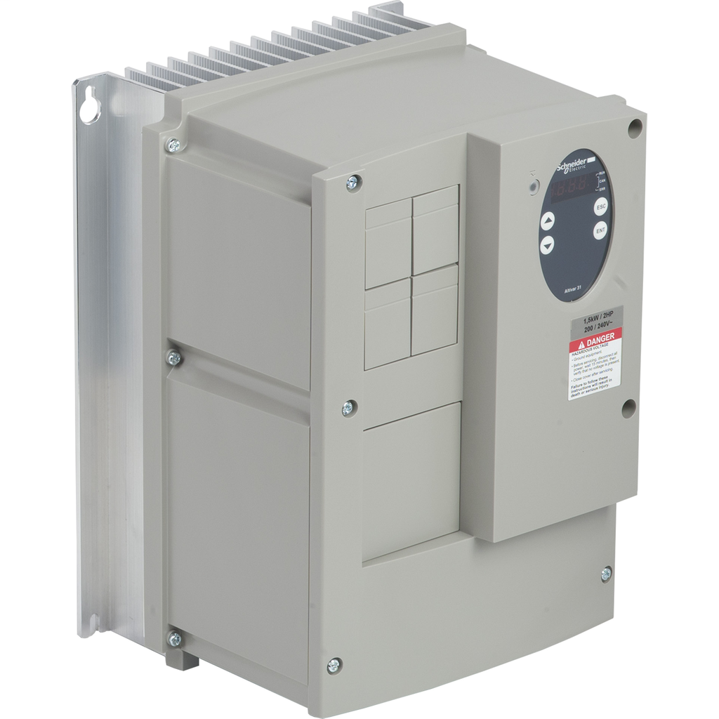 Enclosed variable speed drive ATV31 - 1.5kW - 240V - IP55