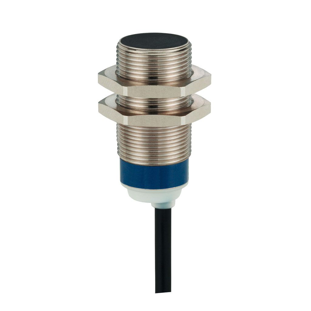 Inductive sensor XS5 M18 - L39mm - brass - Sn5mm - 12..24VDC - cable 2m