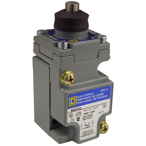 SQD 9007C52E LIMIT SWITCH 600V