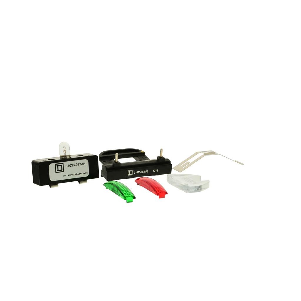 Mayer-Pilot light kit Type S, red and green, Type 1, NEMA size 3, 120VAC 60 Hz-1