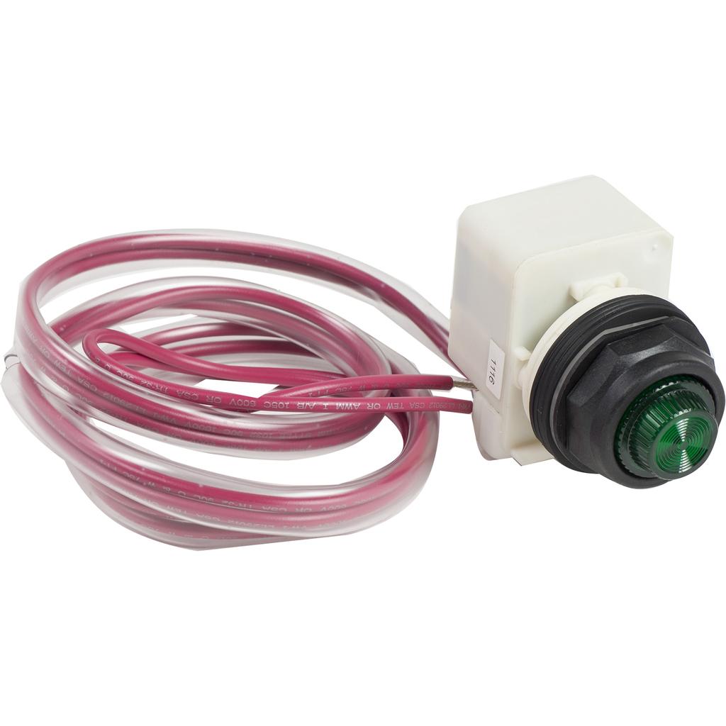 Mayer-Pilot light kit Type S, LED, green, Type 4-4X, NEMA size 00-7, 120VAC 60Hz-1