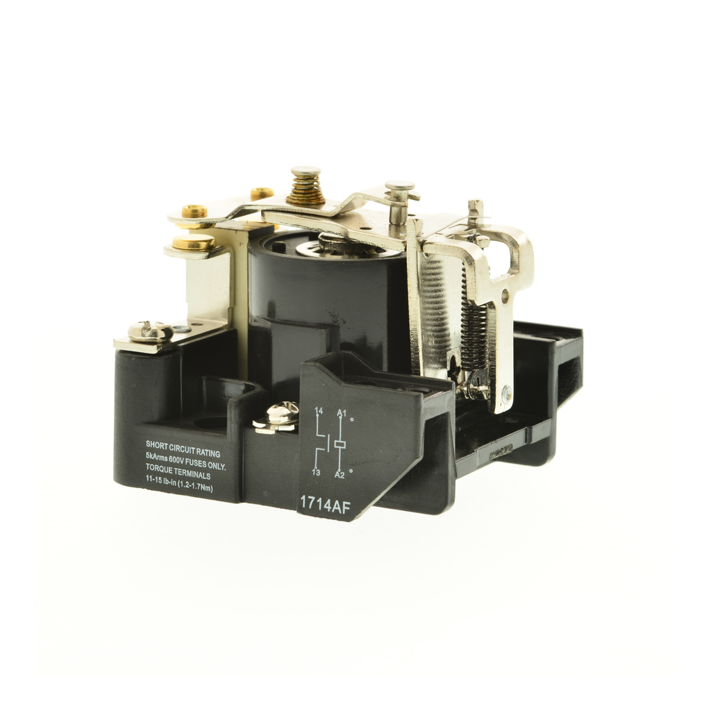 SQUARE D Power Relay, SPST, 1NO and 0NC, 20 A resistive at 110 VDC, 110 VDC coil
