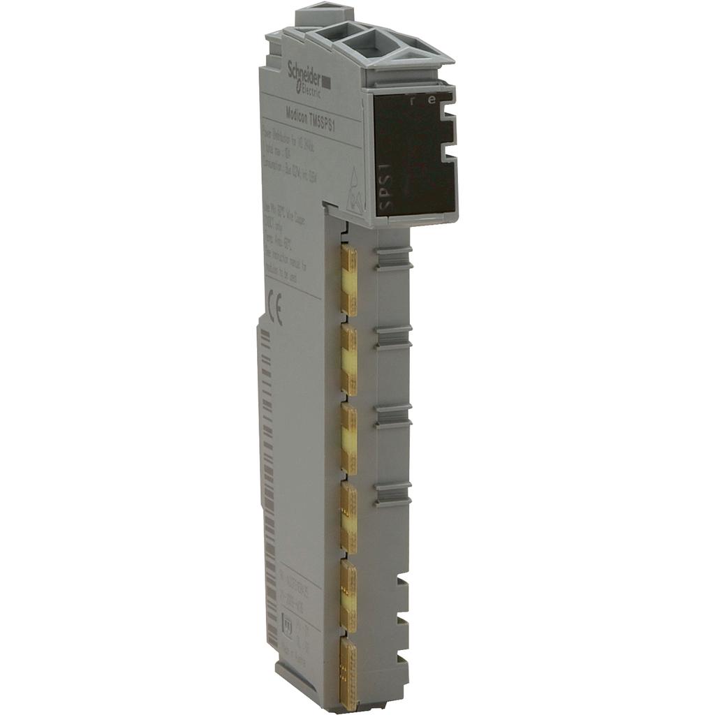 Power distribution module - for I/O module 24 V DC - 6.3 A internal fuse