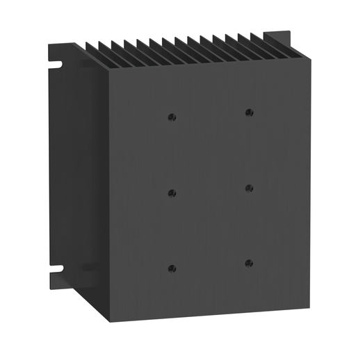 Heat sink for panel mounting relay