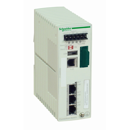 TCSESM043F1CU0 - Ethernet TCP/IP managed switch – ConneXium – 3TX/1FX – multimode