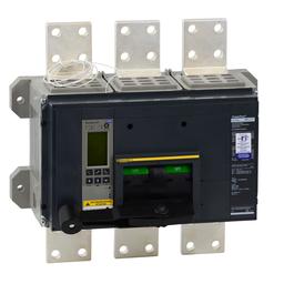 RLF36300U74AE1 - POWERPACT R-FRAME, MOLDED CASE CIRCUIT BREAKER, 600V, 3000A, 3P, 50kA