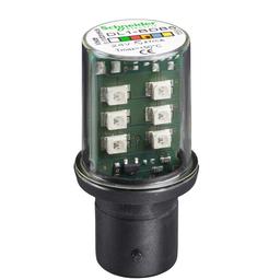DL1BDB5 - Protected LED bulb, BA 15d, orange, steady light, 24 V AC/DC
