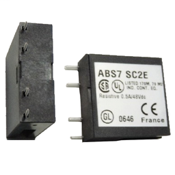ABS7SC2E - Plug-in solid state relay – 10 mm – output – 5..48 V DC – 0.5 A